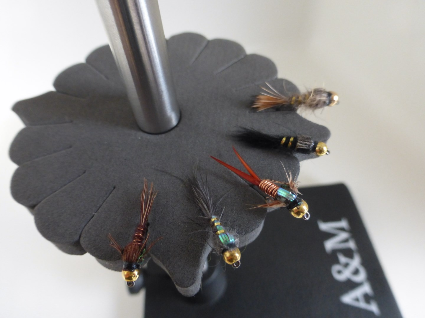 A&M Foam Vice Fly Tying Rack