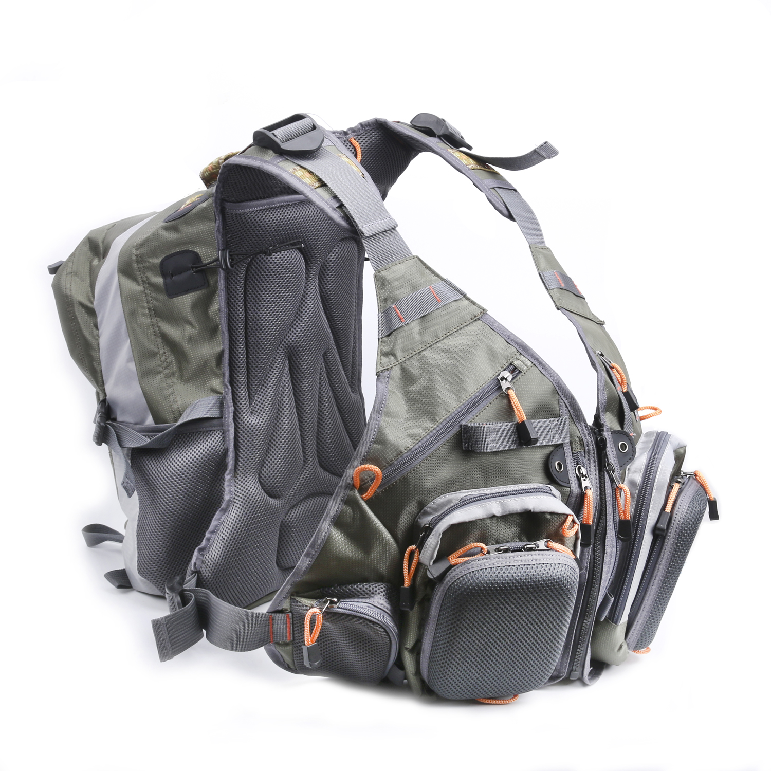 A&M V3 Vliegvisvest Combo Back Pack