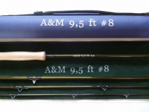 "A&M # 8 - 9,5 ft  "" Long Handle ""'"