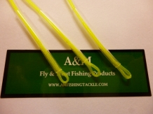 A&M leaderloop 30 lb 15 cm Yellow/green Shrinkable Super slim