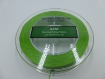 A&M X Strong Spectra Backing - 200 Meter 100 LB Green