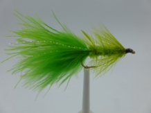 Size 10 Wooly Bugger Chartreuse