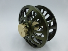 A&M 5 Serie # 5/6 Olive/Gold Fly Reel