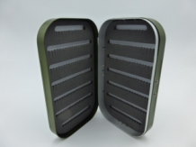 Fly Box Olive Aluminium