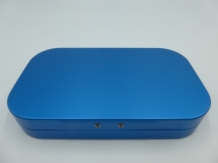 Fly Box Blue Aluminium