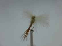 Size 16 CDC Mayfly Spent Barbless