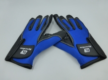 Fishing Glove Blue Size M