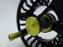 A&M XF # 5/6 Black/Green Fly Reel