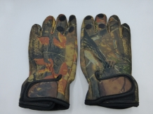 Fishing Glove Camo Size M