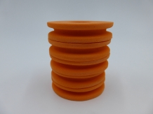 EVA Foam Leader Spool - Orange  - 5 stuks