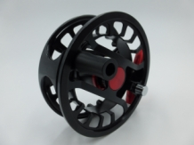A&M FD Fly Reel # 7/8 Black/Red