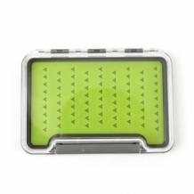 Fly Box Green Silicon small
