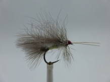 Size 16 High Rider Sedge CDC Barbless