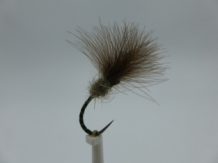 Size 16 Owl Olive CDC Barbless