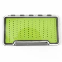 Fly Box  Green Silicon Large