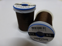 VEEVUS 8/0 DARK DUN BROWN E13