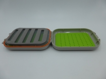 Fly Box Swingleaf Green Silicone Waterproof