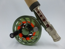 A&M TFFR # 3 Combi Set - G6 Olive Fly Reel