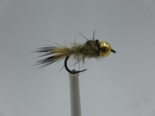 Size 18 Tungsten - Hare,s Ear Natural - Barbless