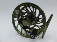 A&M 9 ft # 6 TSFR Combi Set G6 Olive Fly Reel