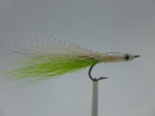Size 6 Sandeel Chartreuse/White