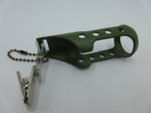 A&M Bottle Holder Clip On Olive