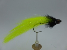 Size 6/0 A&M Pike Streamer Fluo Yellow Flash