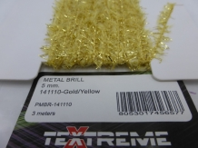Textreme Metal Brill 5 mm - Gold/Yellow