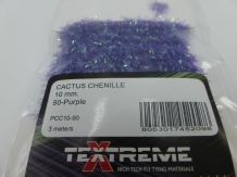 Cactus Chenille 10 mm - 90 Purple