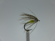 Size 18 Sparkle Soft Hackle Gold Barbless