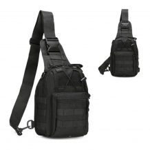 A&M Sling Bag Black  600 D