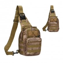 A&M Sling Bag Brown Camo 600 D