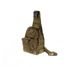 A&M Sling Bag Tan 600 D