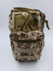 A&M Sling Bag Brown/Cream  Camo 600 D