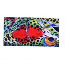 A&M 3 -D Seamless Headwear Buff - TROUT FACE