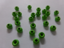 Tungsten Fluo Green Bead 3,5 mm